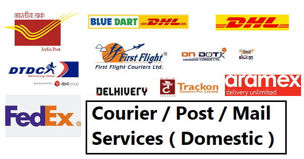 Courier / Post / Mail Services ( Domestic )