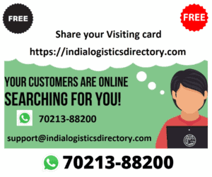 India Logistics Company Listing Website – Free Business Listing Sites in India